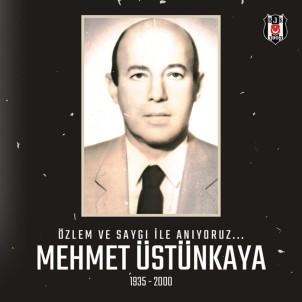 Beşiktaş, Eski Başkanlarından Mehmet Üstünkaya'yı Andı
